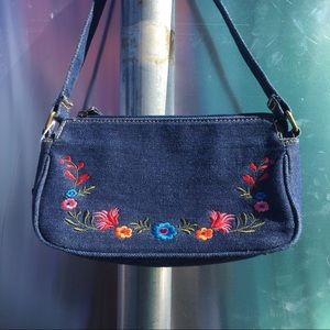 Y2K denim handbag